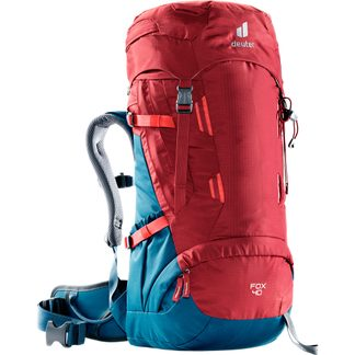 Deuter - Fox 40l Kinderrucksack cranberry steel