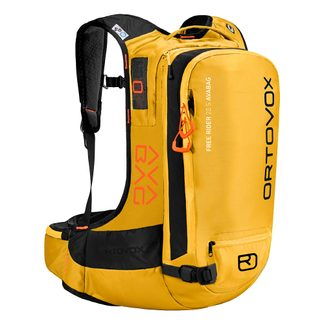 ORTOVOX - Free Rider 22 Avabag Avalanche Backpack yellowstone