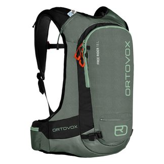 ORTOVOX - Free Rider 18 Ski Backpack green forest