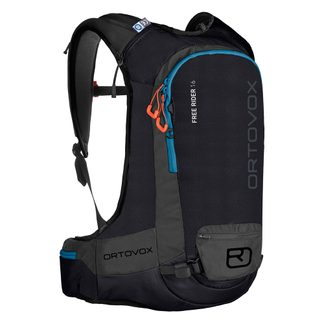 ORTOVOX - Free Rider 16L Touring Backpack black raven