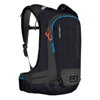 ORTOVOX - Free Rider 18L Touring Backpack black raven