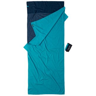 Cocoon - Travel Sheet Egypt Cotton tuareg lagune blue