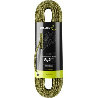 Edelrid - Starling Protect Pro Dry 8,2mm yellow-night