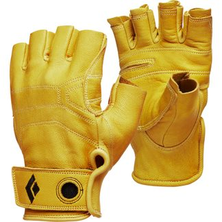 Black Diamond - Stone Leather-Gloves natural