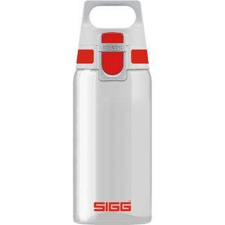 Sigg - Total Clear One 0.5l Drinking Bottle red