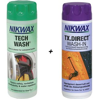 Nikwax - Tech Wash + TX Direct 2 x 300ml