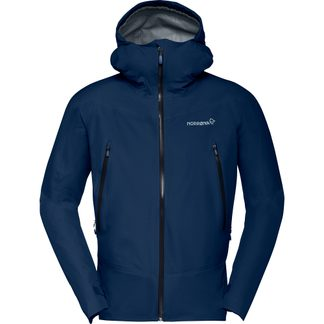 Norrona - Falketind Gore-Tex Hardshell Jacket Men indigo night