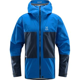 Haglöfs - Roc Sheer GTX Hardshell Jacket Men storm blue tarn blue