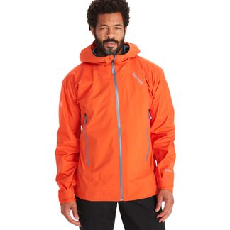 Marmot - Mitre Peak Hardshell Jacket Men red sun