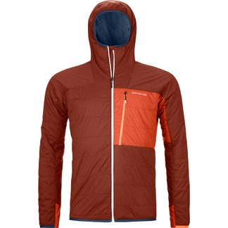ORTOVOX - Swisswool Piz Duan Isolationsjacke Herren clay orange