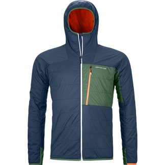 ORTOVOX - Swisswool Piz Duan Isolationsjacke Herren blue lake