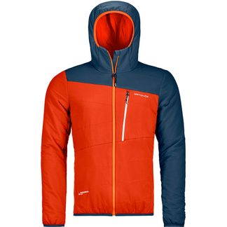 ORTOVOX - Swisswool Zebru Isolationsjacke Herren desert orange