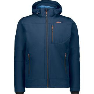 CMP - Zip Hood Softshell Jacket Men blue ink