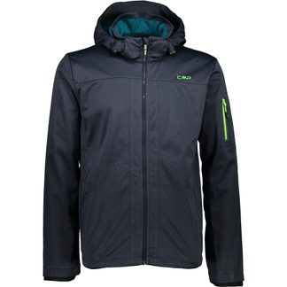 CMP - Softshell Jacket Men blue mel bottle