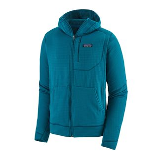 Patagonia - R1 Full-Zip Hoody Men balkan blue