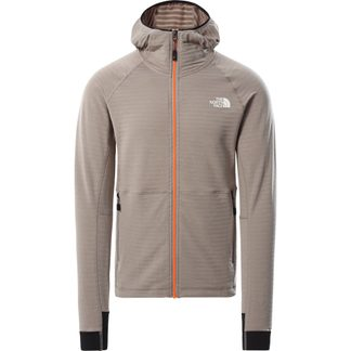 The North Face® - Circadian Full Zip Hoodie Herren mineral grey dark heather