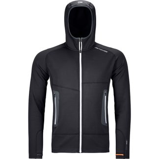 ORTOVOX - Fleece Light Hoody Men black raven