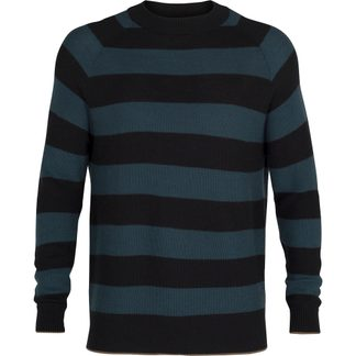 Icebreaker - Utility Explore Crewe Sweater Herren deep midnight