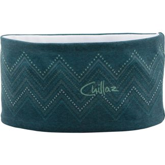 Chillaz - ZigZag Ornament Headband Unisex lake green
