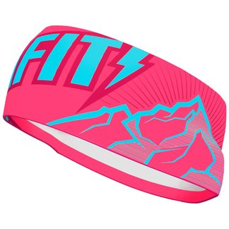 Dynafit - Graphic Performance Stirnband fluo pink peak