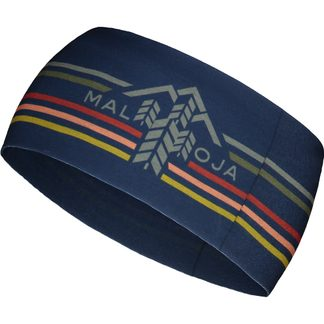 Maloja - SnowdropM. Headband Unisex night sky