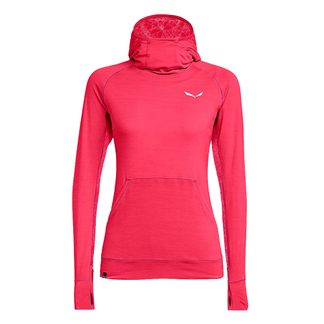 SALEWA - Puez Melange Dry Hoody Women rouge red melange