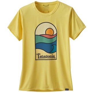 Patagonia - Capilene Cool Daily Graphic T-Shirt Damen sunset sets pineapple