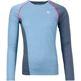 ORTOVOX - 120 Cool Tec Fast Upward Longsleeve Damen light blue blend