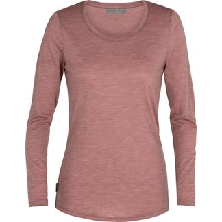 Icebreaker - Sphere Low Crewe Longsleeve Damen suede heather