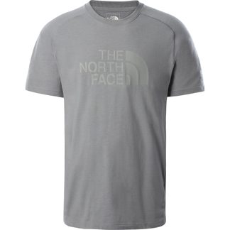 The North Face® - Wicker Graphic Crew T-Shirt Men mid grey heather