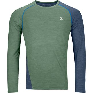 ORTOVOX - 120 Cool Tec Fast Upward Longsleeve Herren green forest blend
