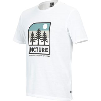 Picture - Timont T-Shirt Men white
