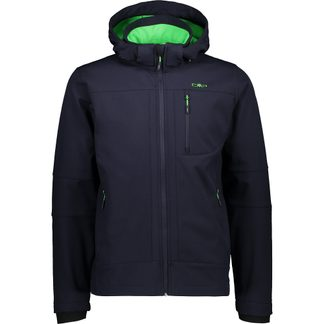 CMP - Softshell Jacket Men b blue aloe
