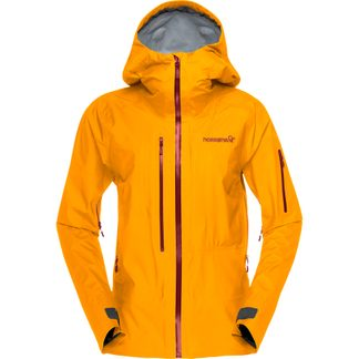 Norrona - lofoten GTX Active Hardshelljacke Damen orange crush