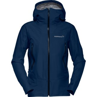 Norrona - Falketind Gore-Tex Hardshell Jacket Women indigo night