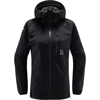 Haglöfs - L.I.M Hardshell Jacket Women true black