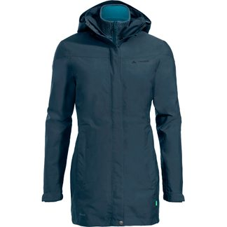 VAUDE - Idris II 3 in 1 Parka Damen steelblue