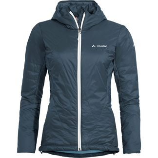 VAUDE - Freney V Kapuzenjacke Damen steel blue