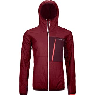 ORTOVOX - Swisswool Piz Duan Isolationsjacke Damen dark blood