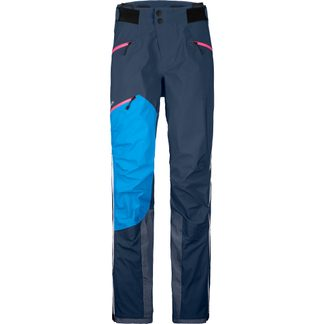 Westalpen 3L Hardshell Pants Women blue lake