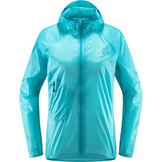 Haglöfs - L.I.M Shield Comp Hood Jacket Women maui blue