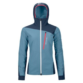 ORTOVOX - Pala Jacket Women light blue