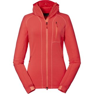 Schöffel - Ramezza Fleece Hoody Women hibiscus