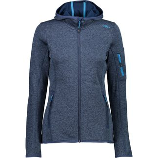 CMP - Knit Tech Fleece Jacket Women blue light blue