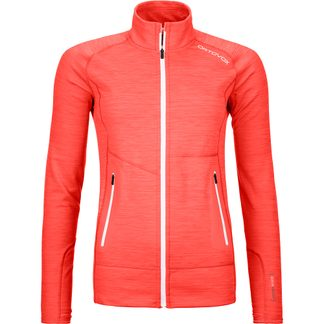 ORTOVOX - Fleece Light Jacket Women coral blend