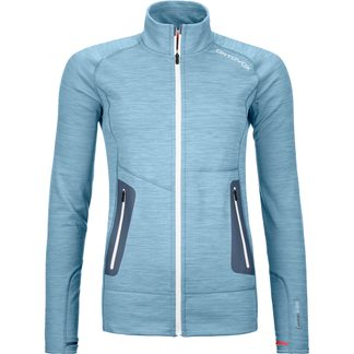 ORTOVOX - Fleece Light Jacket Women light blue blend