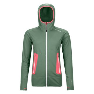 ORTOVOX - Fleece Light Hoody Damen green forest