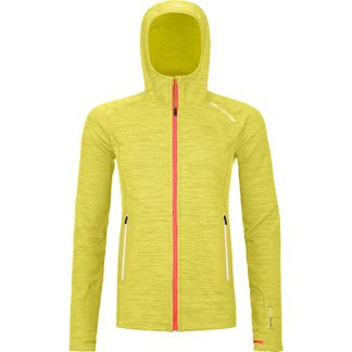 ORTOVOX - Fleece Light Hoody Women dirty daisy blend
