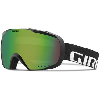 Giro - Onset goggle black wordmark vivid emerald