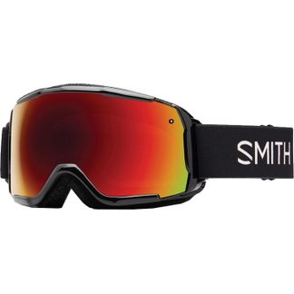 Smith - Grom Goggles Kids black red sol-x